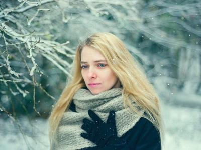 Christmas stress, winter