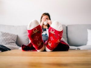 downtime at Christmas, self-care featured