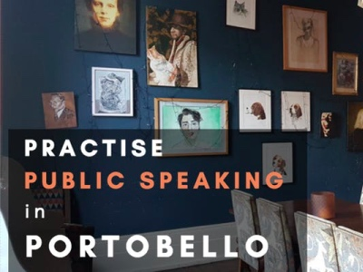 Practise public speaking in Portobello featured
