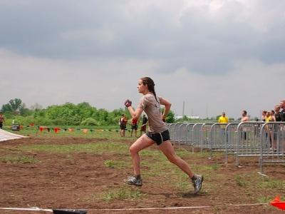 iron girl, woman running featured