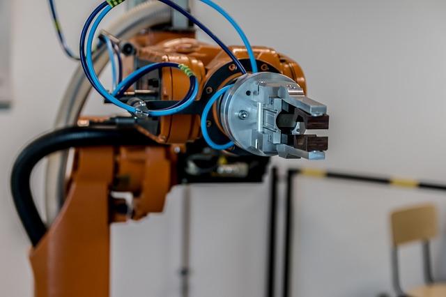robot arm, AI, automation