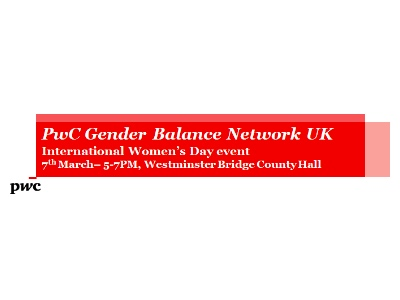 PwC Gender Balance Network featured