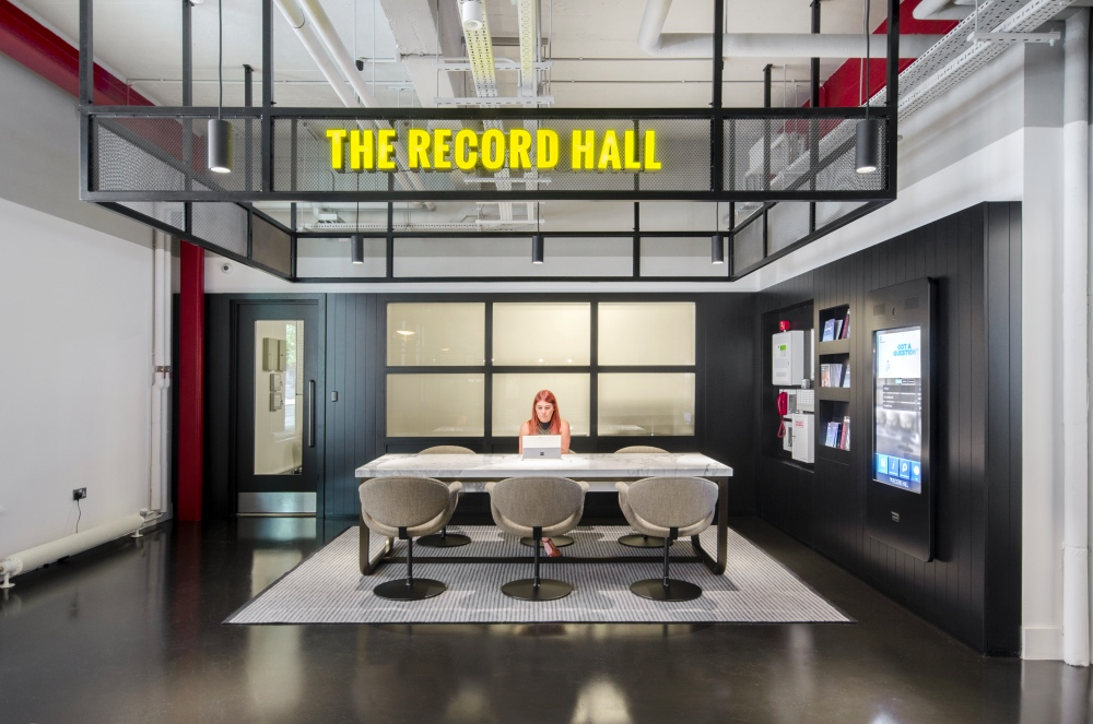 Workspace Records Hall