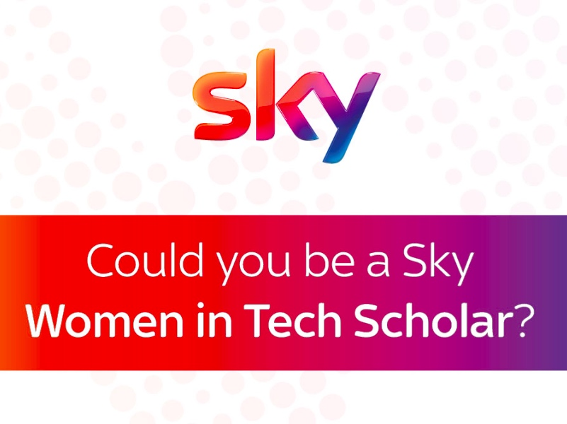 Sky Women in Tech scholar featured