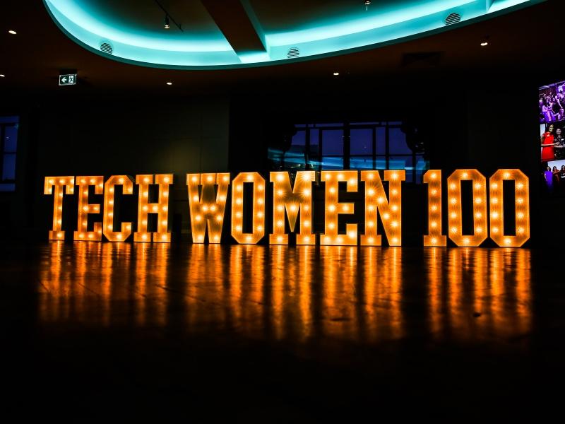TechWomen100 in lights