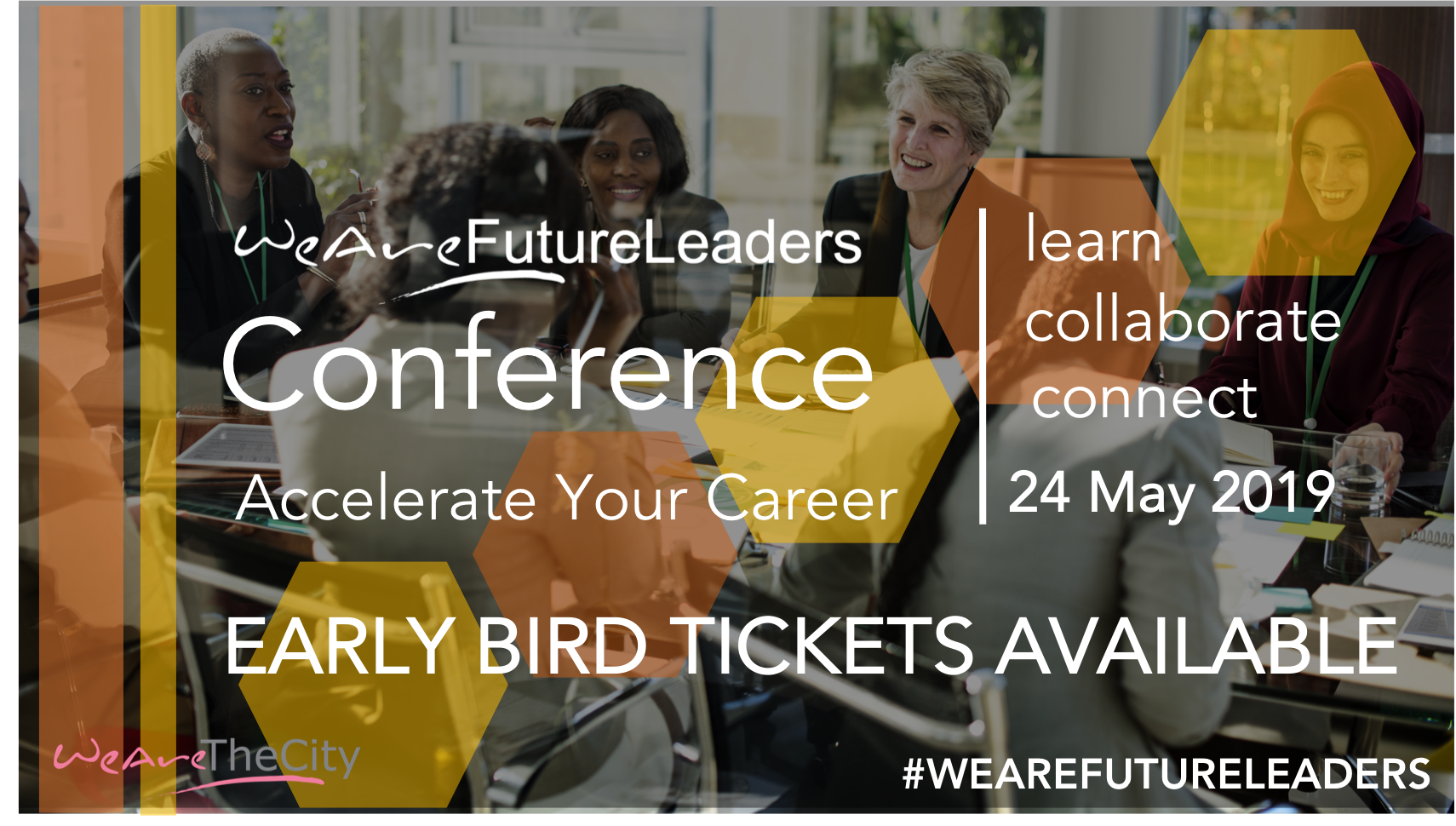 WeAreFutureLeaders WAFL Early Bird banner