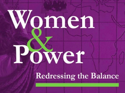 Women & Power - Redressing the Balance featured