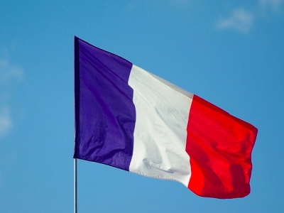 French flag featured