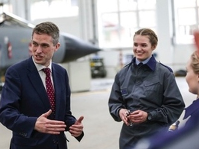 Gavin Williamson, RAF defence featured