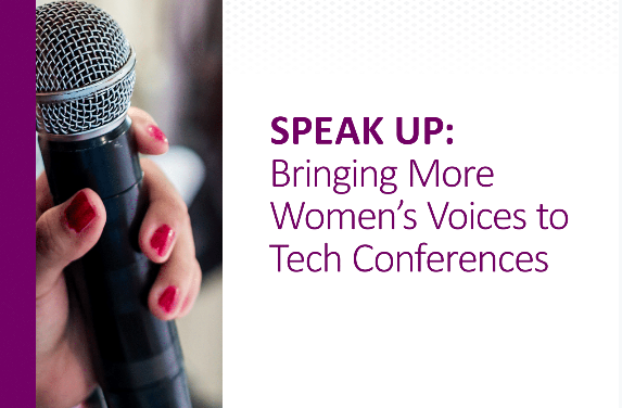 Speak Up Bringing More Women's Voices to Tech Conferences
