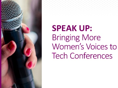 Speak Up Bringing More Women's Voices to Tech Conferences featured