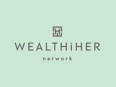WealthiHer logo featured