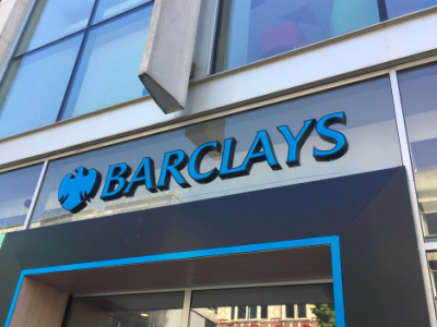 Barclays shop front featured