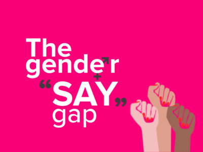 Gender Say Gap featured