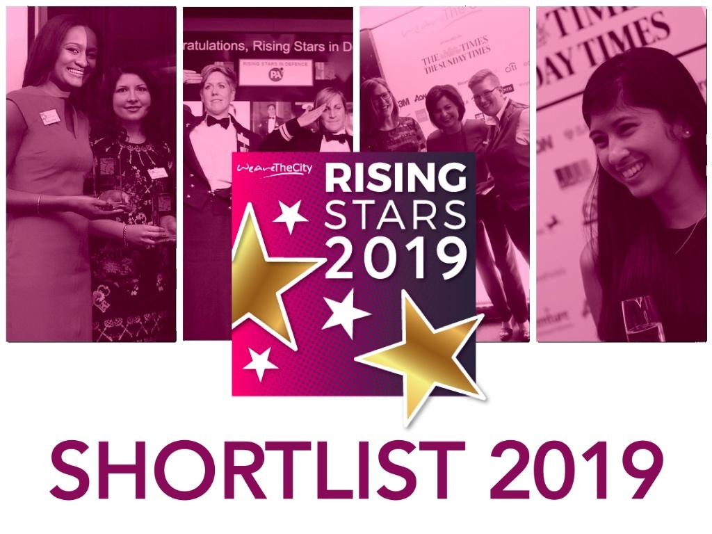 Rising Star Shortlist 2019 logo