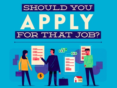 Should You Apply For That Job infographic featured