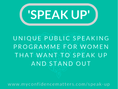 Speak Up programme featured