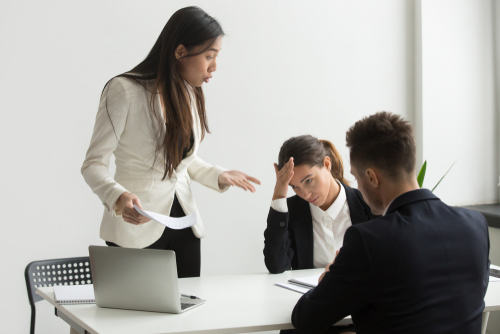 Disruptive work behaviour