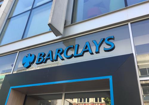 Barclays shop front