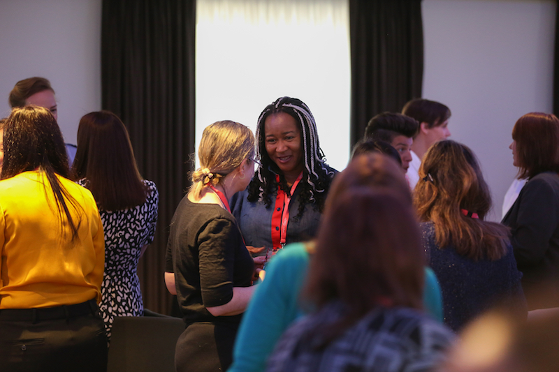 Networking begins at the WeAreFutureLeaders conference