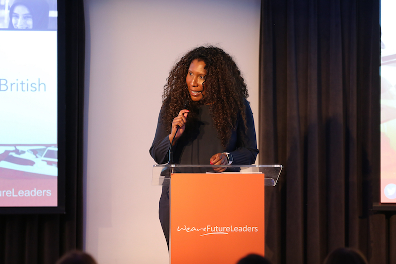 Conference host, Melanie Eusebe, Business Strategist; Chair & Founder, Black British Business Awards