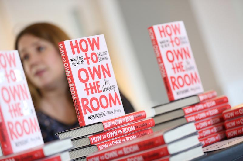 Viv Groskop's book stand