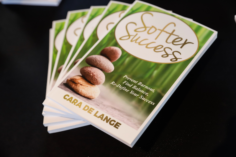 Cara de Lange's Softer Success book