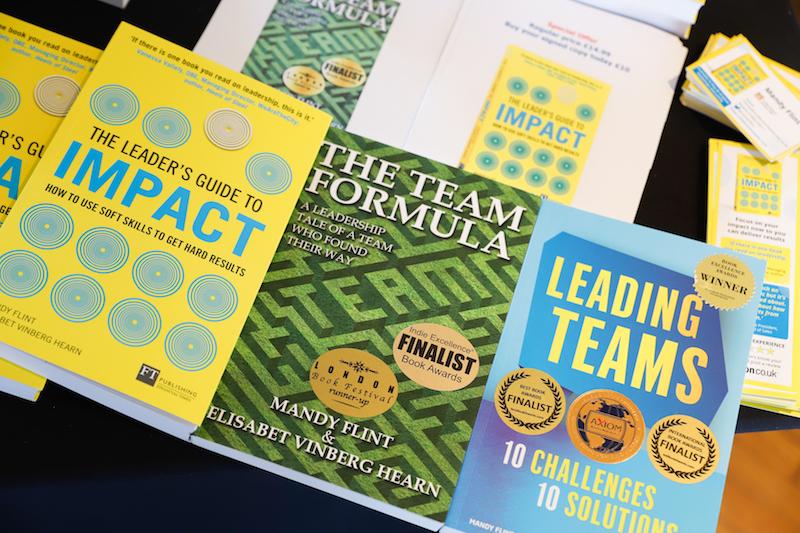 Copies of Mandy Flint & Elisabet Hearn's books