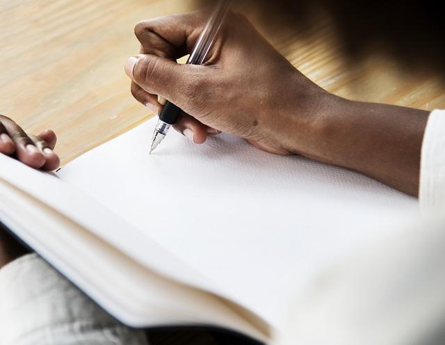woman writing, dyslexia
