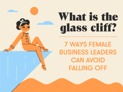 what is the glass cliff featured