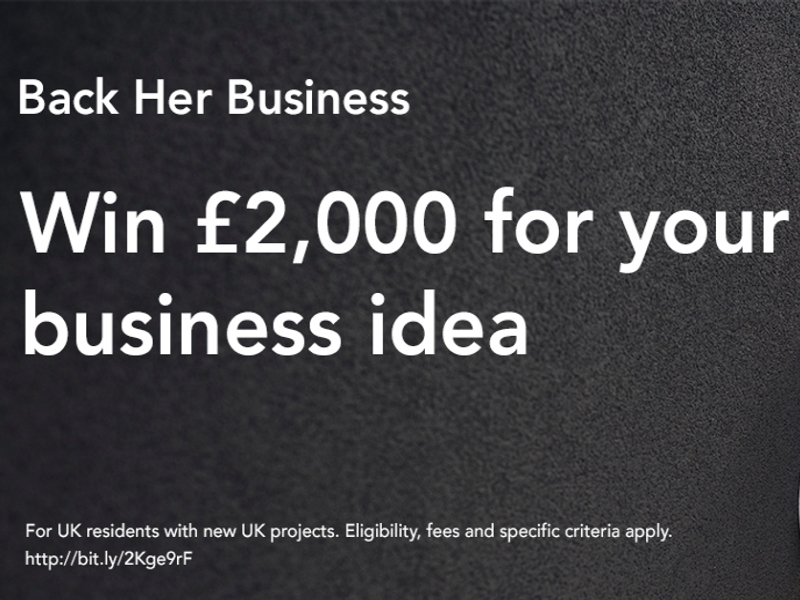Back Her Business competition featured