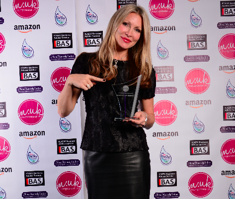 Caprice Bourret, Mumpreneur of the Year award