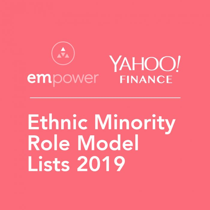 Ethnic Minority Role Model Lists 2019