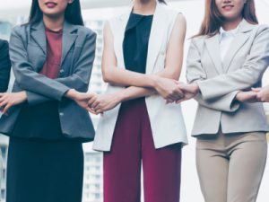 role models. female leaders, group of women