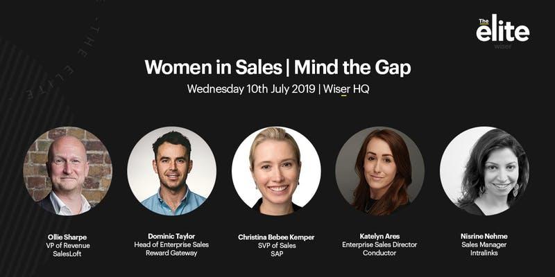 Women in Sales Mind the Gap