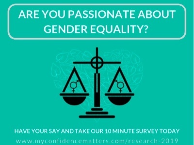 My Confidence Matters gender equality survey featured