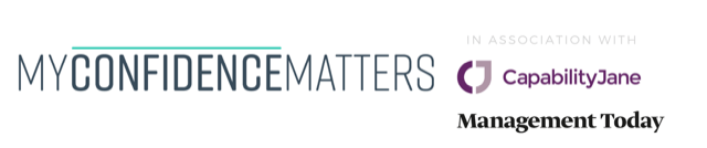 My Confidence Matters, Capability Jane and Management Today logo