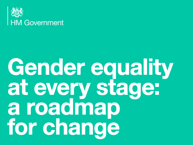 gender equality roadmap featured