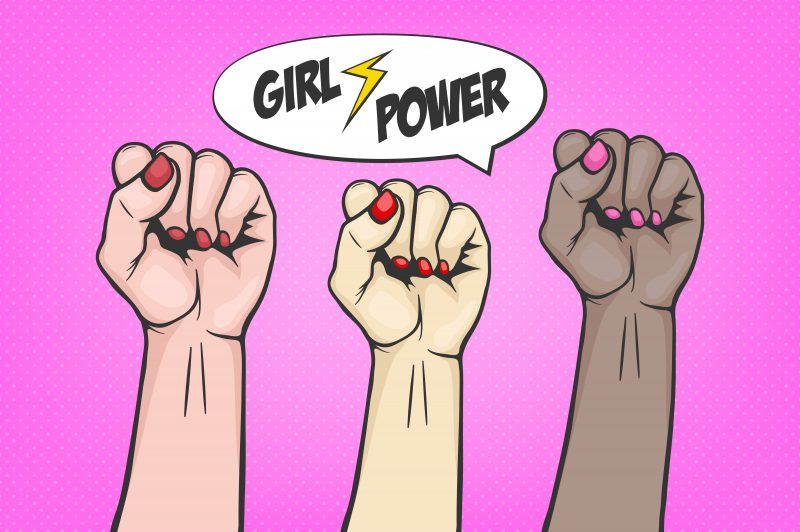 Girl power, revolutionary