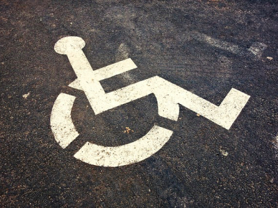 wheelchair symbol, disabled featured