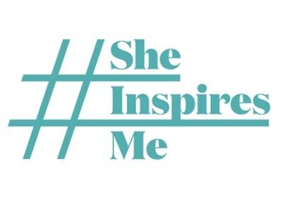 #SheInspiresMe