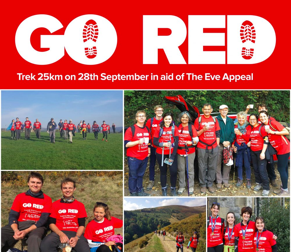 28/09/19: Go Red and Trek 25km to help protect women from