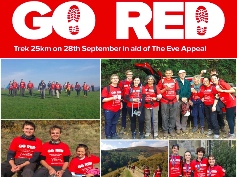 Go Red & Trek featured