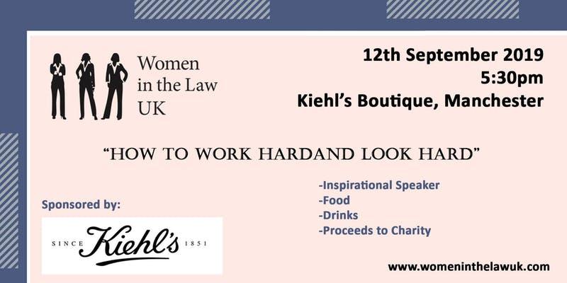 Women in the Law UK Kiehls event