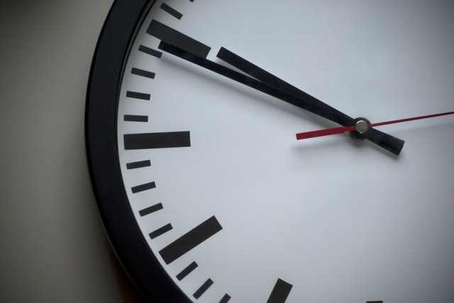 clock face, time, time for a new role / job
