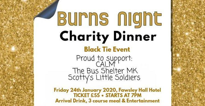 Charity Burns Night