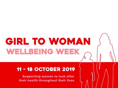 Girl to Woman Wellbeing Week featured