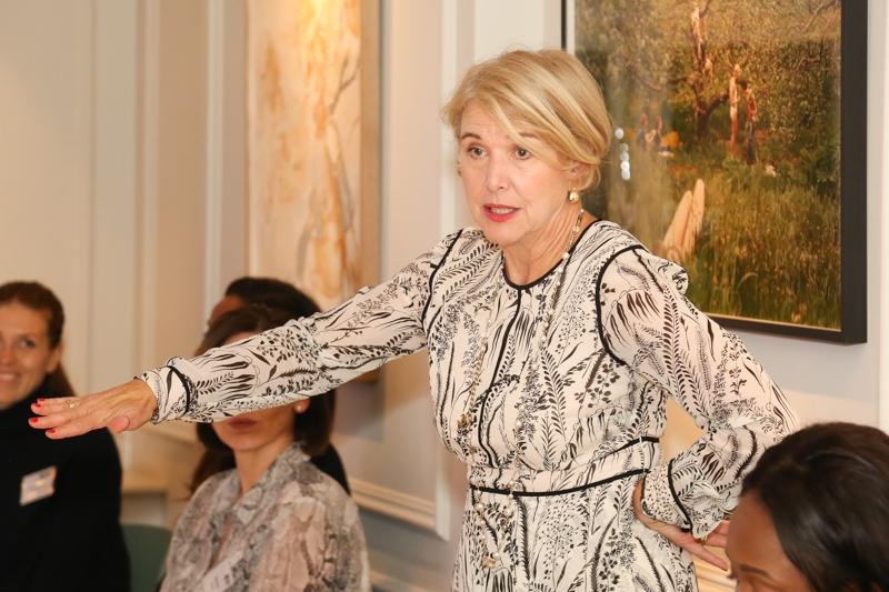 Ann Francke speaking at the WIBF dinner 1