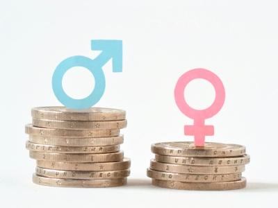 Gender pay gap, image