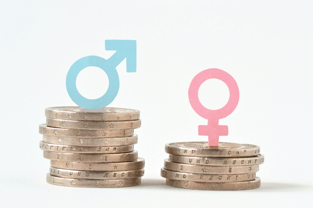 Gender pay gap, image